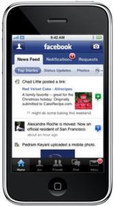 Facebook - iPhone